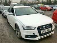 Audi S4 B8 Black Edition BREAKING SPARES AIRBAG LEATHER SEATS ALLOY DOORS AXLE HUBS CORNERS