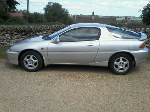 rare future classic silver mazda mx3 3 door sports coupe with worlds smallest v6 motd alloys. Black Bedroom Furniture Sets. Home Design Ideas