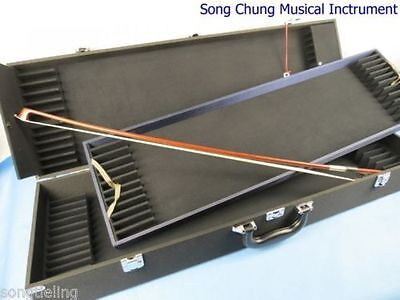 Strong hard violin bow case for 36 bow holders.waterproof cl