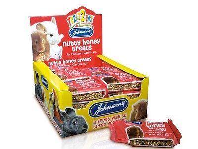 Hamster Honey Sticks - NUTTY HONEY TREAT - Hamster Gerbil Small Animal Tasty Fruit Food Treat Stick 047