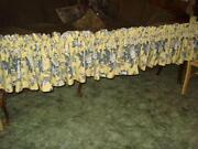 Yellow Valance