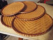 Vintage Bamboo Tray