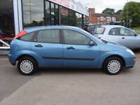 2001 51 FORD FOCUS 1.6 ZETEC 5d 99 BHP, MOT MARCH 2017