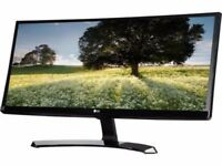 LG 29UM68-P 29inch 2560x1080 IPS FREESYNC Gaming Super-Wide Widescreen LED Monitor