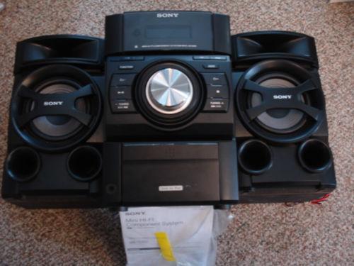 Sony Hi Fi Stereo System Ebay