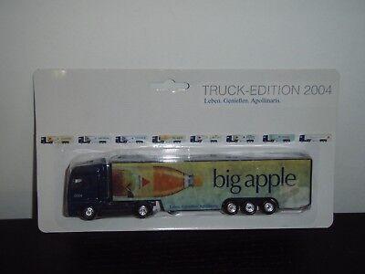 Werbe Truck LKW - Apollinaris big apple - Edition 2004 - MAN - OVP - alt