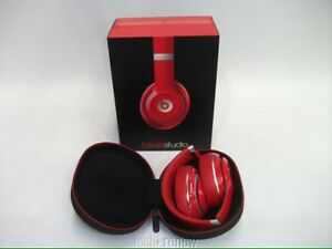 Selling my Dr. Dre Beats DRE. BEATS STUDIO 2.0 WIRED (RED)