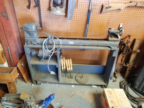 Vintage Wood Lathe Ebay