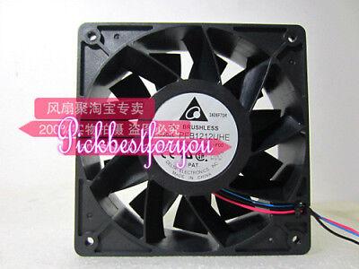 New Original Delta Pfb1212uhe 12038 12v 4.80a Super Large Air Fan Mt02- Ql