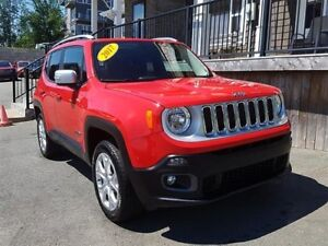 2017 Jeep Renegade Ltd / 2.4L I4 / Auto / 4x4 **Beautiful!**