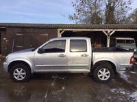 Chevrolet Luv (isuzu rodeo) Diesel automatic 4x4 crew cab pickup,