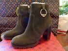 Tory Burch Solid Ankle Boots for Women
