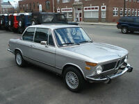 1973 BMW 2002 Round tail lights Coupe (2 door)