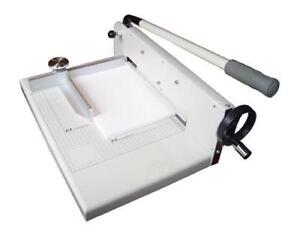 New 12 Manual Stack Paper Cutter Trimmer Heavy Duty