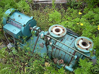10930-008  5 hp Vacuum pump Kinney model KLRC-40SF