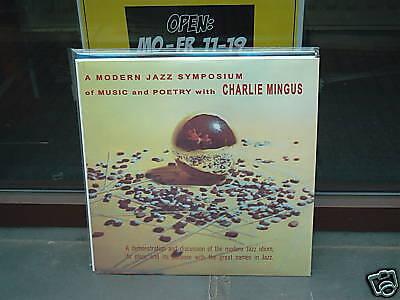 Charles Mingus - Modern Jazz Symposium - LP 180g Vinyl /// Neu & OVP