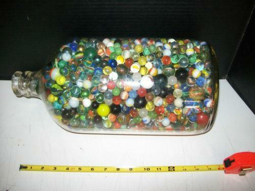 Antique Handmade Marbles Ebay