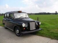 WANTED LONDON BLACK TAXI CAB