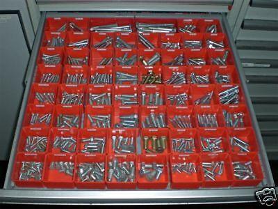 112 Schaller Plastic Storage Boxes Drawer Divider Accessory Organizer Bin Cups