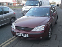 Ford Mondeo 1.8i 2002 Alloys UK delivery PX Swap Jetski Caravan Motorcycle