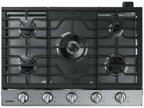 """Samsung 30"""" Stainless Steel Gas Cooktop"""