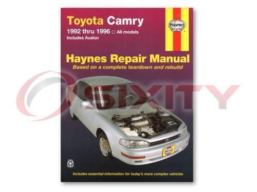 1996 toyota camry repair manual pdf