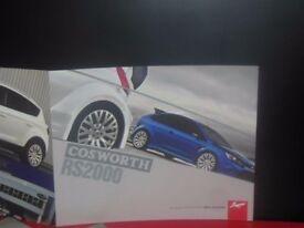 Kahn Cosworth RS200 Brochure