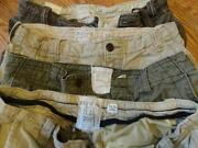 Mens Shorts 32 Lot