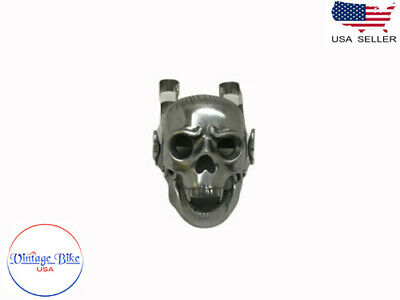 Fit for BSA NORTON TRIUMPH CHOPPER BOBBERR SKULL HEADLIGHT -NEW