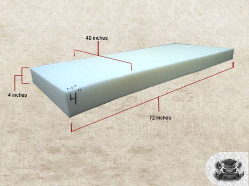4 upholstery foam ebay. Black Bedroom Furniture Sets. Home Design Ideas