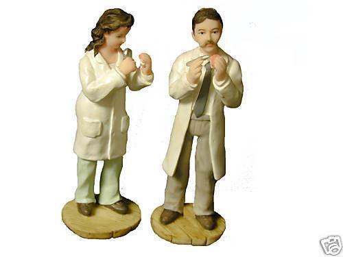 Female Doctor Figurine Ebay