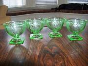 RARE Green Depression Glass