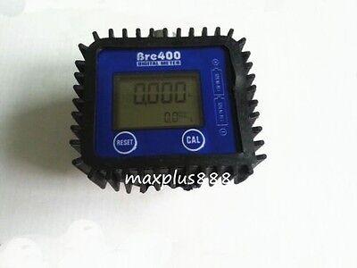 1 Pcs 12 Fuel Diesel Gasoline Kerosene Oil Oval Gear Flow Meter