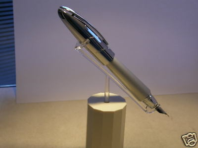 Jaguar Fountain Pen 18k Nib Silver Cap 57%Off Retail Very Rare Best World Price