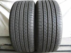 235/50/17 Michelin Energy Saver A/S All Season 2 used tires, 75% tread left