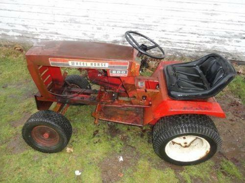 Antique Garden Tractor Ebay