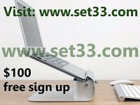 Thousands per week.$50 bonus for sign up.