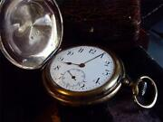 Swiss Gold Pocket Watch