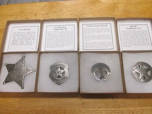 The Tombstone 4 Badge Collection