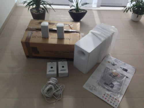 bose lautsprecher weiss ebay. Black Bedroom Furniture Sets. Home Design Ideas