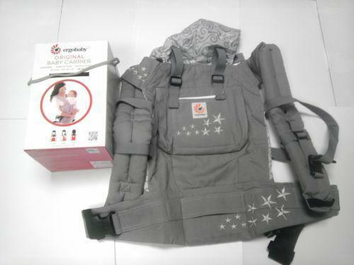 Ergo Baby Carrier Galaxy Grey Ebay