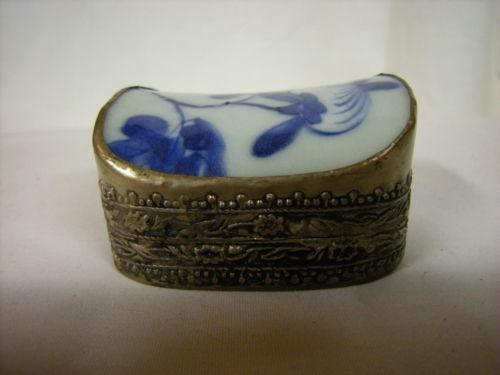 Chinese Porcelain Box | eBay