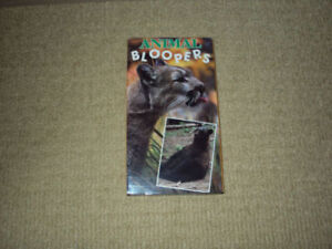 ANIMAL BLOOPERS, VHS, EXCELLENT CONDITION