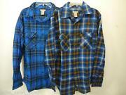Mens Flannel Shirts Lot
