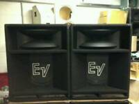 "EV 15"" SPEAKERS LO MID TO BASS"