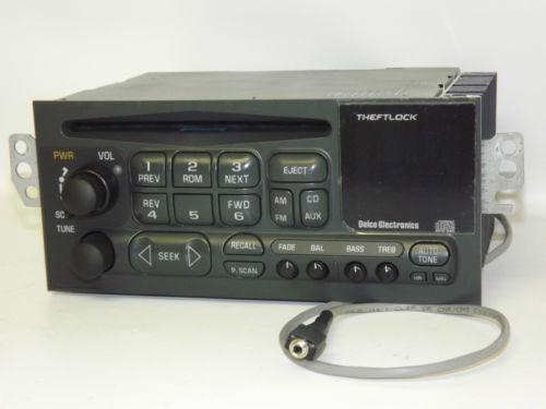 Chevy S10 Radio Ebayrhebay: Factory Cd Radio Player For 1996 Chevy Blazer At Gmaili.net