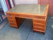 Reproduction Pedestal Desk