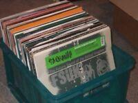 "120 x 12"" Breakbeat / Electro / Drum & Bass Vinyl Records Collection"