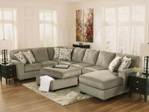 Modern Fabric Sofa Set Ebay