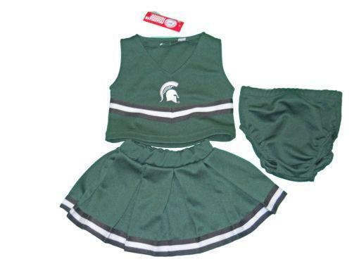 Michigan State Cheerleading Outfit Ebay
